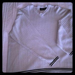Beige Anchor Blue Mens sweater